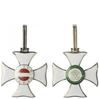 Vojenský řád Marie Terezie, komanderský kříž stříbro zlacené, smalty, značeno ,,CFR''