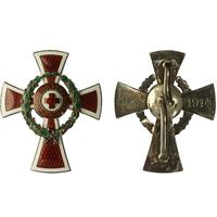 Čestné vyznamenání Za zásluhy o Červený kříž, důstojnický kříž s válečnou dekorací, I