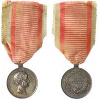 Medaile za statečnost, stříbrná medaile, II. třída, IV. vydání po roce 1848