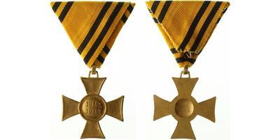 Pamětní kříž z let 1912 - 1913, letopočet negativní, náhradní kov, Marko.411d
