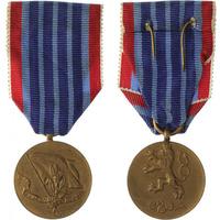 Medaile Za pracovní obětavost, I. vydání, VM.48-I, stužka