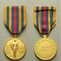 Zlatá medaile za zásluhy o sport, bronz zlacená