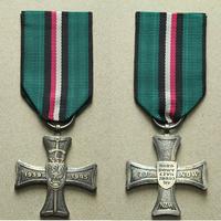 Kříž Národního odporu 1939 - 1945, stříbro, nepuncováno