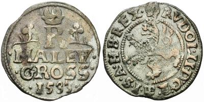 Malý groš 1583, Praha-Ercker, HN.16b