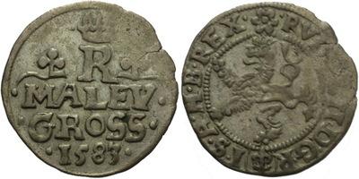 Malý groš 1583, Praha-Ercker, HN.17
