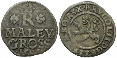 Malý groš 1588, Praha-Ercker, HN.30