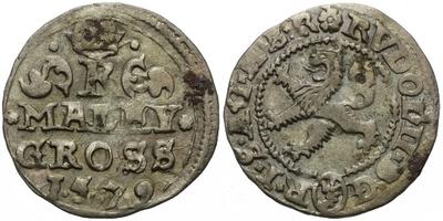 Malý groš 1579, Kutná Hora-Šatný, HN.2b