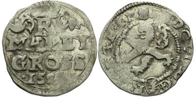 Malý groš 1584, Kutná Hora-Šatný, HN.1b