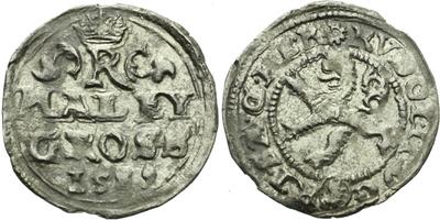 Malý groš 1589, Kutná Hora-Šatný, HN.1b
