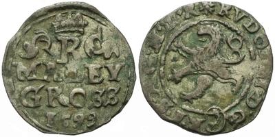 Malý groš 1599, Kutná Hora-Dominik, HN.8