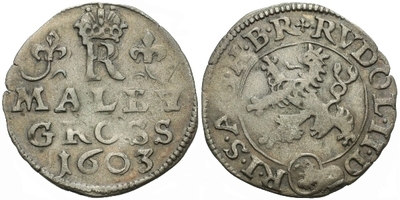 Malý groš 1603, Kutná Hora-Enderle, HN.13a