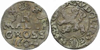 Malý groš 1604, Kutná Hora-Enderle, HN.14