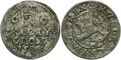Malý groš 1586, Jáchymov-Hoffmann, HN.8a