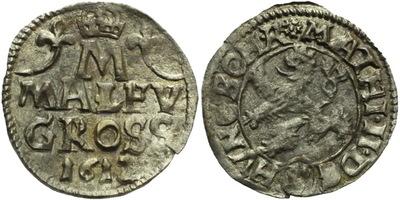 Malý groš 1612, Kutná Hora-Šultys, HN.2