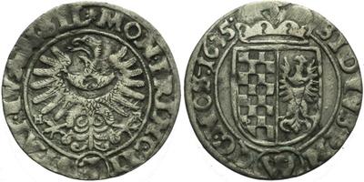 3 Krejcar 1635, Vratislav-Rieger, Hal.1146