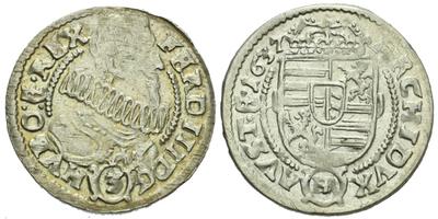3 Krejcar 1637, Kladsko - Rossner