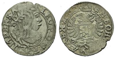 3 Krejcar 1662, Kutná Hora - Krahe