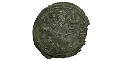 1/2 Krejcar 1689, Kutná Hora - Krahe