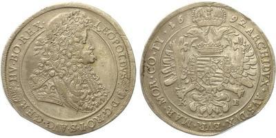 Leopold I., Tolar KB 1692, Kremnice