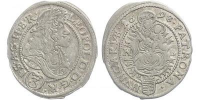 3 Krejcar 1698 NB, Nagybánya