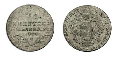 24 krejcar 1800 C, nep. vada materiálu