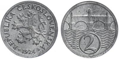 2 haléř 1924, mimořádná zachovalost