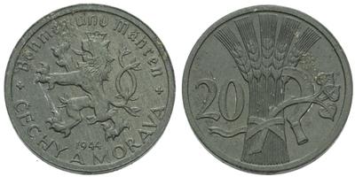 20 haléř 1944