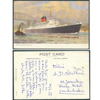Doprava - Lodě, Gunard R.M.S. Saxonia