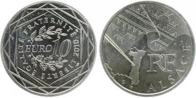 10 Euro 2010 - Alsace