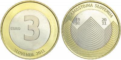 3 Euro 2011