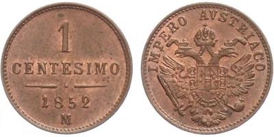 Centisimo 1952 M - Milán