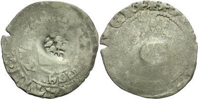 Pražský groš s kontramarkou města Amberg, Sm. 4, Krusy A3,1