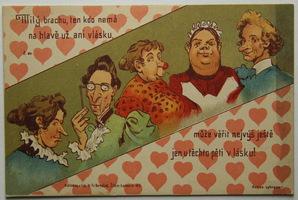 Humor, žertovné - Pět krasavic