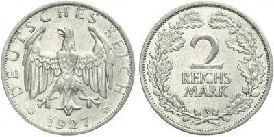 2 Marka 1927 A
