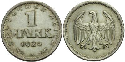 1 Marka 1924 A