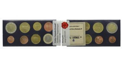 Ročníková sada mincí 2002, certifikát