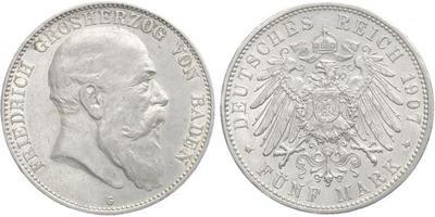 5 Marka 1907 G