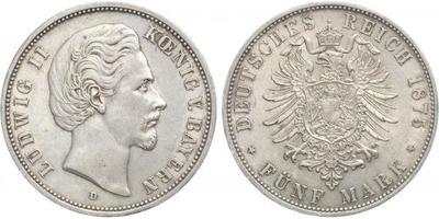 5 Marka 1875 D
