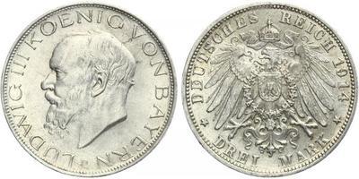 3 Marka 1914 D