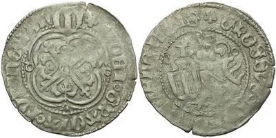 Štítový groš, 1428 - 1444, Freiberg, Krug.709