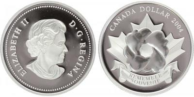 Kanada, Dollar 2004 - Remember Souvenir, PROOF