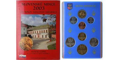 Ročníková sada mincí 2003