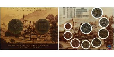 Ročníková sada euro mincí 2010
