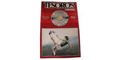 25 Peso 1985 - MS ve fotbale 1986 v Mexiku, Ag, 0,720, 24 mm (7,776 g), původní dvoul