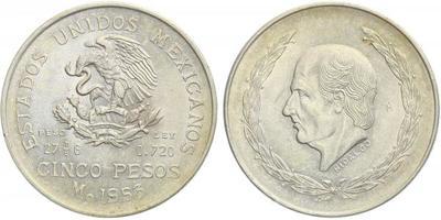 5 Peso 1953