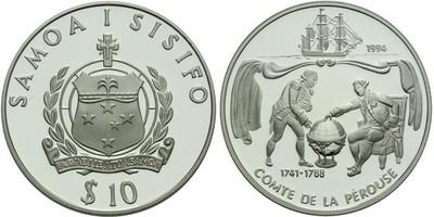 10 Tala 1994 - Ag 0,925, 38 mm (31,47 g), PROOF