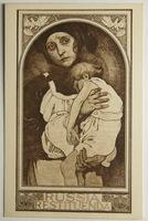 Umělecké, umění - Malířství, Alfons Mucha, Russia Restituenda