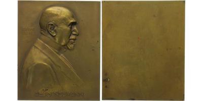 AE Plaketa 1912 - Alois Neumann, 90 x 74 mm