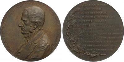 AE Medaile 1898 - 100. výročí narození Františka Palackého, Br 58 mm