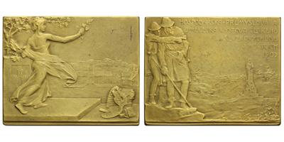 AE medaile 1903 - Hospodářská,  průmyslová a umělecká výstava českého severovýchodu v